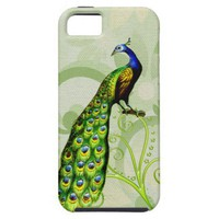 Pretty Peacock iPhone 5 Case from Zazzle.com