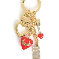 GOLD VALENTINE'S DAY KEYFOB by Juicy Couture, O/S