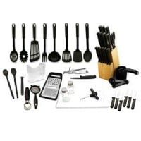 Hampton Forge 52-Piece Kitchen Starter Set: Kitchen & Dining