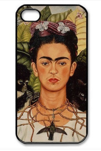 iPhone 4 case iPhone 4s case - Frida Kahlo Self Portrait Painting iPhone Hard Case-graphic Iphone case