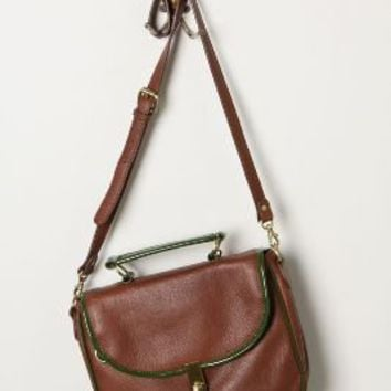 Patent-Edged Satchel - Anthropologie.com