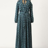 Stenciled Tigers Maxi Dress - Anthropologie.com