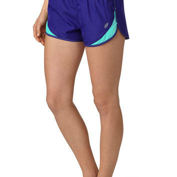 contrast stitch fully lined short