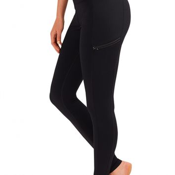 Legging with techtile™ performance fabric