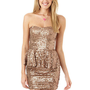 Copper Sequin Peplum