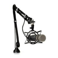 RODE PSA 1 Swivel Mount Studio Microphone Boom Arm (Black): Musical Instruments