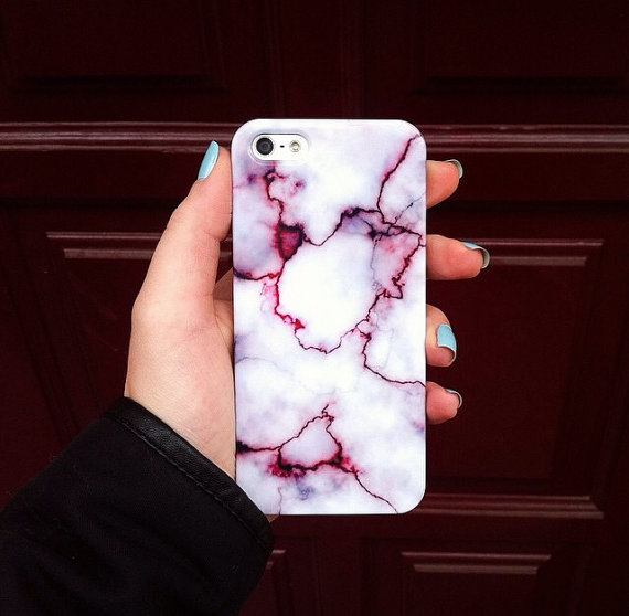 iphone marble case, iPhone 6, marble, from needthecase on Etsy