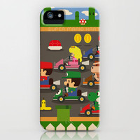 mario kart iPhone Case by Danvinci | Society6