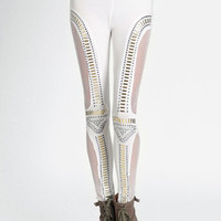 Soft Edge Studded Leggings - $39.00: ThreadSence, Women's Indie & Bohemian Clothing, Dresses, & Accessories