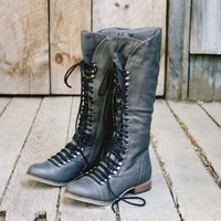 Upper County Boots in Gray, Sweet Bohemian Boots