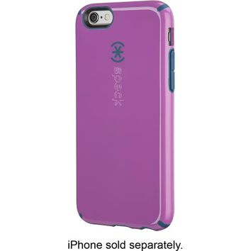 Speck - CandyShell + Faceplate Case for Apple® iPhone® 6 - Purple