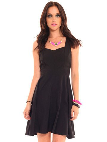 GYPSY WARRIOR - Heart Back Dress