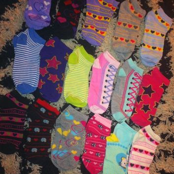 17 pairs of socks most new a few mabye worn once