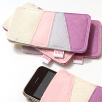 iPhone 4 case in pastel colours