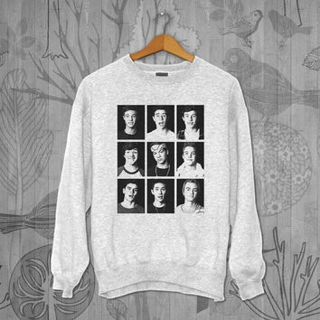 Magcon Boy art Unisex Adult Long Sleeve T-Shirt Sweater Sweatshirt, for men and women Available Size S,M,L,XL,XXL