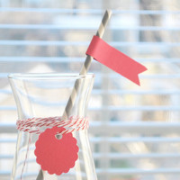 DIY Paper Drink Straws With Flags S.. on Luulla