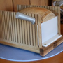 The Bread Pal Bread Slicer - Our compact storage design sets us apart!
