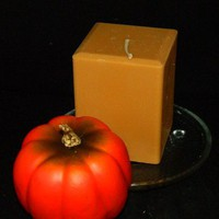 Reminds You of Home Strong Pumpkin Spiced Square Candle Handmade
