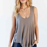 Truly Madly Deeply Exposed Seam Tank Top-