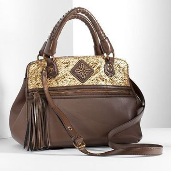 Simply Vera Vera Wang Electra Triple-Entry Satchel