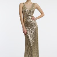 Sequin Illusion Dress from Camille La Vie and Group USA