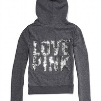 Bling Perfect Zip Hoodie