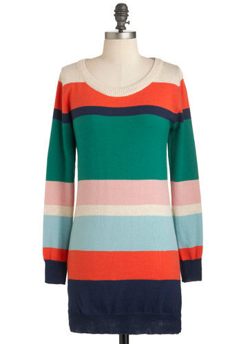 Hued Success Sweater | Mod Retro Vintage Sweaters | ModCloth.com