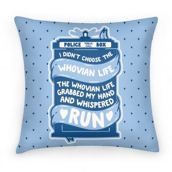 I Didn't Choose The Whovian Life