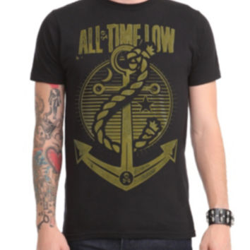All Time Low Anchor Slim-Fit T-Shirt 2XL
