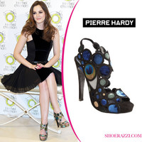 Leighton Meester in Pierre Hardy - ShoeRazzi