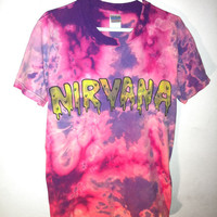 yard666sale NIRVANA  SLIME T SHIRT  yard666sale M