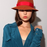Sienna Fedora hat [Yik6399] - &amp;#36;95 : Pixie Market, Fashion-Super-Market
