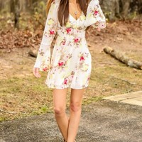 Floral The Merrier Dress