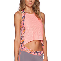 Maaji Hi Low Tank Top in Jelly Canter