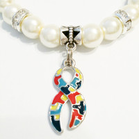 Autism Awareness Bracelet / Autism Jewelry / Autism Teacher / Autism Ribbon / Autism Support / Autism Awareness / Autism Puzzle Piece