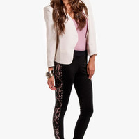 Lacing Stripes Leggings $33