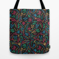 Tribe called pattern Tote Bag by Yeah Yeah Patterns