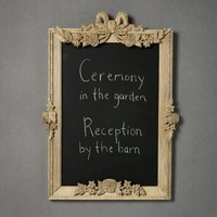 Festive Garland Chalkboard in SHOP New at BHLDN