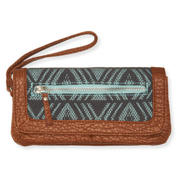 Aeropostale  Southwest Snap Flap Wallet