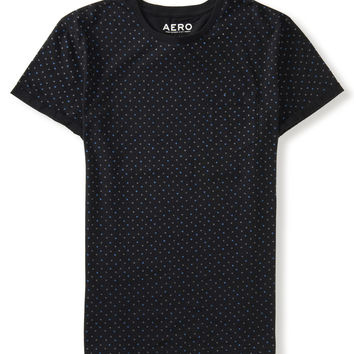 Aeropostale  Polka Dot Pocket Tee
