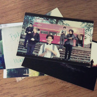 One Direction Polaroid Stickers