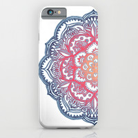 Radiant Medallion Doodle iPhone & iPod Case by Micklyn