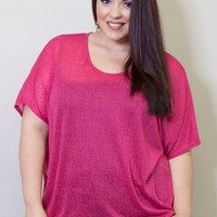 Plus Size Tops | Kimberly Knit Top | Swakdesigns.com
