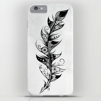 Feather iPhone & iPod Case by LouJah