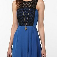 UrbanOutfitters.com &gt; KNT by Kova &amp; T Lace-Top Dress
