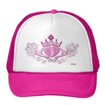The Claddagh (Pink) Mesh Hats