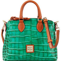 Dooney & Bourke Handbag, Nile Croco Crossbody Satchel - Dooney & Bourke - Handbags & Accessories - Macy's
