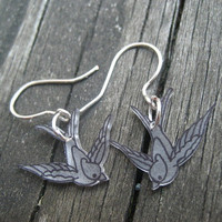 Singing Sparrow Earrings