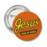 Jesus (Reeses) Flair Button from Zazzle.com