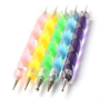 Amazon.com: Nail Art Dotting Tools / Dotting Pens- Set of 5 Double Ended Nail Art Dotting and Marbling Tools for Manicure and Pedicure with 10 Different Dotting Sizes: Beauty